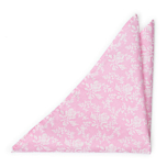 THUMBELINA Pink pocket square
