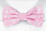 THUMBELINA Pink pre-tied bow tie