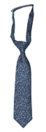 TUSSIEMUSSIE Blue boy's tie small pre-tied