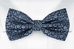 TUSSIEMUSSIE Blue pre-tied bow tie
