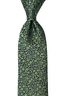 TUSSIEMUSSIE Green classic tie