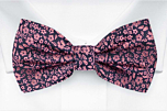 TUSSIEMUSSIE Pink pre-tied bow tie