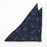 VENTOMBRO Dark blue pocket square