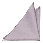 VIGSEL Pale purple pocket square