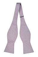 VIGSEL Pale purple self-tie bow tie