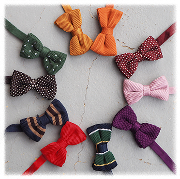The Knitted Revolution Knitted Bow Ties And Neckties In Silk And Wool