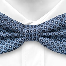 Notch Dansgolv Blue Bow Tie