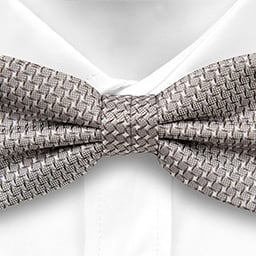 Notch Karaste Grey Bow Tie